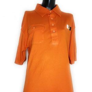 Vintage University Of Miami Polo Shirt XL